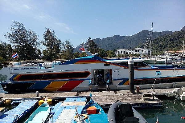 ferry Langkawai to Koh Lipe